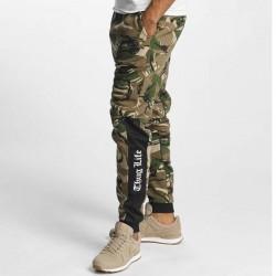 Thug Life / Sweat Pant Kurgan in camouflage