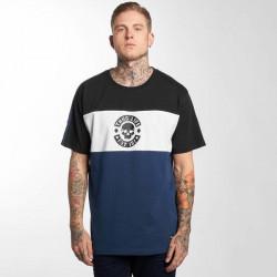 Thug Life / T-Shirt Lion in blue
