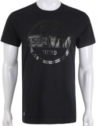 Tričko New Era Crafted Visor black
