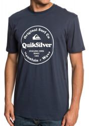 Tričko Quiksilver Secret Ingredient blue nights
