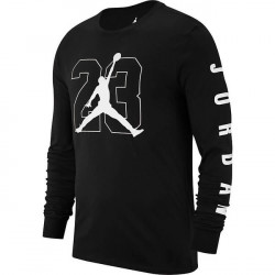 Tričko s dlhým rukávom Air Jordan Graphic Longsleeve Black