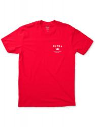 Tričko Supra TRADEMARK Farba: Červená,
