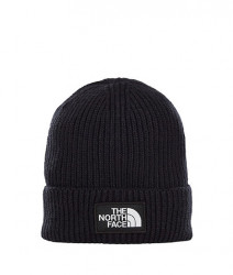 Unisex čierna zimná čiapka The North Face