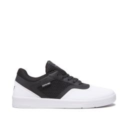 Unisex čierno-biele tenisky Supra SAINT Farba: Biela,Čierna,