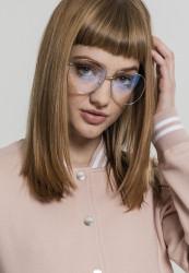 Unisex okuliare MSTRDS Glasses February silver