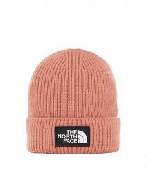 Unisex ružová zimná čiapka The North Face