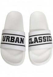 Unisex šlapky Urban Classics  UC Slides biele