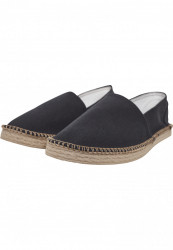 Unisex slip on Urban Classics Canvas Slipper čierne