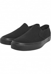 Unisex slip on Urban Classics Low Sneaker čierne