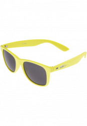 Unisex slnečné okuliare MSTRDS Groove Shades GStwo neonyellow
