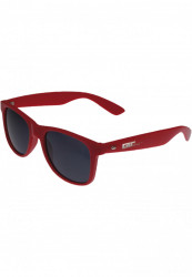 Unisex slnečné okuliare MSTRDS Groove Shades GStwo red