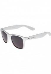 Unisex slnečné okuliare MSTRDS Groove Shades GStwo white