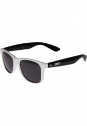 Unisex slnečné okuliare MSTRDS Groove Shades GStwo wht/blk