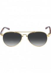 Unisex slnečné okuliare MSTRDS Mumbo Youth gold/grey