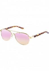 Unisex slnečné okuliare MSTRDS Mumbo Youth gold/rosé