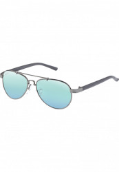 Unisex slnečné okuliare MSTRDS Mumbo Youth gun/blue