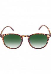 Unisex slnečné okuliare MSTRDS Sunglasses Arthur Youth havanna/green