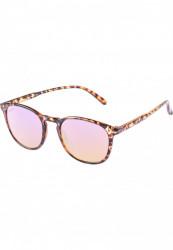 Unisex slnečné okuliare MSTRDS Sunglasses Arthur Youth havanna/rosé