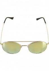 Unisex slnečné okuliare MSTRDS Sunglasses August gold/yellowgold