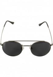 Unisex slnečné okuliare MSTRDS Sunglasses August gunmetal/black