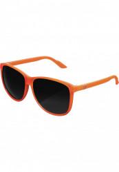 Unisex slnečné okuliare MSTRDS Sunglasses Chirwa neonorange