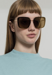 Unisex slnečné okuliare MSTRDS Sunglasses December gold