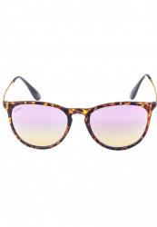 Unisex slnečné okuliare MSTRDS Sunglasses Jesica havanna/rosé