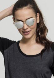 Unisex slnečné okuliare MSTRDS Sunglasses July gold