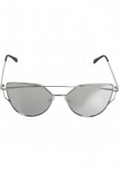 Unisex slnečné okuliare MSTRDS Sunglasses July silver
