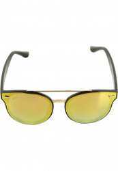 Unisex slnečné okuliare MSTRDS Sunglasses June black/gold