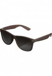 Unisex slnečné okuliare MSTRDS Sunglasses Likoma brown
