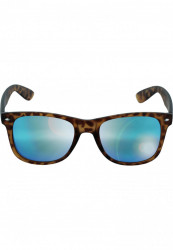 Unisex slnečné okuliare MSTRDS Sunglasses Likoma Mirror amber/blue