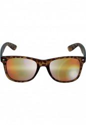 Unisex slnečné okuliare MSTRDS Sunglasses Likoma Mirror amber/orange