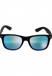 Unisex slnečné okuliare MSTRDS Sunglasses Likoma Mirror blk/blue