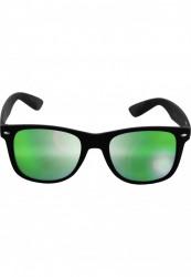 Unisex slnečné okuliare MSTRDS Sunglasses Likoma Mirror blk/grn