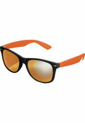 Unisex slnečné okuliare MSTRDS Sunglasses Likoma Mirror blk/ora/ora