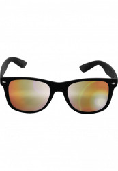 Unisex slnečné okuliare MSTRDS Sunglasses Likoma Mirror blk/orange