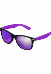 Unisex slnečné okuliare MSTRDS Sunglasses Likoma Mirror blk/pur/pur