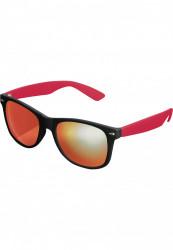 Unisex slnečné okuliare MSTRDS Sunglasses Likoma Mirror blk/red/red