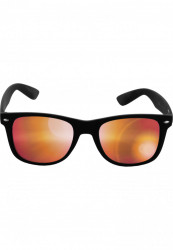Unisex slnečné okuliare MSTRDS Sunglasses Likoma Mirror blk/red