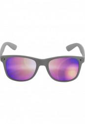 Unisex slnečné okuliare MSTRDS Sunglasses Likoma Mirror grey/purple