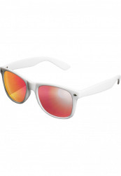 Unisex slnečné okuliare MSTRDS Sunglasses Likoma Mirror white/red