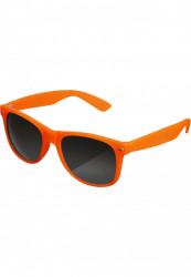 Unisex slnečné okuliare MSTRDS Sunglasses Likoma neonorange