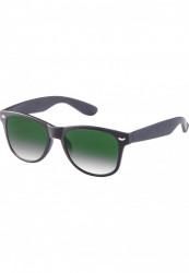 Unisex slnečné okuliare MSTRDS Sunglasses Likoma Youth blk/grn