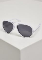 Unisex slnečné okuliare MSTRDS Sunglasses March white