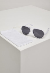 Unisex slnečné okuliare MSTRDS Sunglasses March white #1