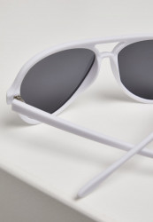 Unisex slnečné okuliare MSTRDS Sunglasses March white #2