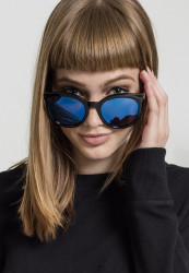 Unisex slnečné okuliare MSTRDS Sunglasses October blk/blu