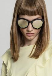 Unisex slnečné okuliare MSTRDS Sunglasses October blk/yellow