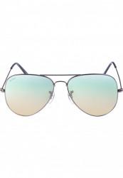 Unisex slnečné okuliare MSTRDS Sunglasses PureAv Youth gun/blue